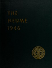 New England Conservatory of Music - Neume Yearbook (Boston, MA) online yearbook collection, 1946 Edition, Page 1