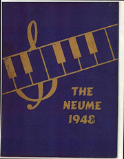 Page 1, 1948 Edition, New England Conservatory of Music - Neume Yearbook (Boston, MA) online yearbook collection