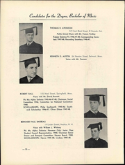 Page 16, 1948 Edition, New England Conservatory of Music - Neume Yearbook (Boston, MA) online yearbook collection