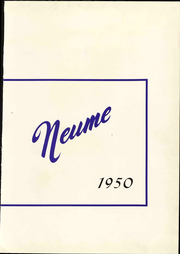 Page 9, 1950 Edition, New England Conservatory of Music - Neume Yearbook (Boston, MA) online yearbook collection