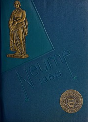 New England Conservatory of Music - Neume Yearbook (Boston, MA) online yearbook collection, 1958 Edition, Page 1