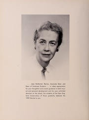 Page 12, 1959 Edition, New England Conservatory of Music - Neume Yearbook (Boston, MA) online yearbook collection