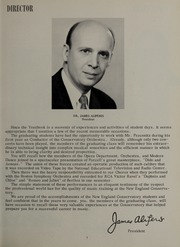 Page 11, 1962 Edition, New England Conservatory of Music - Neume Yearbook (Boston, MA) online yearbook collection