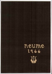 New England Conservatory of Music - Neume Yearbook (Boston, MA) online yearbook collection, 1966 Edition, Page 1