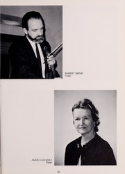 Page 25, 1968 Edition, New England Conservatory of Music - Neume Yearbook (Boston, MA) online yearbook collection