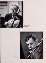 Page 29, 1968 Edition, New England Conservatory of Music - Neume Yearbook (Boston, MA) online yearbook collection