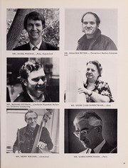Page 43, 1976 Edition, New England Conservatory of Music - Neume Yearbook (Boston, MA) online yearbook collection