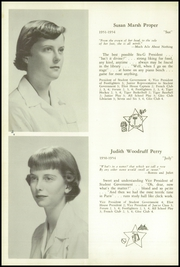 Page 12, 1954 Edition, Walnut Hill School - Summit Yearbook (Natick, MA) online yearbook collection