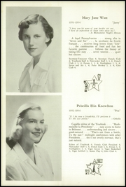 Page 14, 1954 Edition, Walnut Hill School - Summit Yearbook (Natick, MA) online yearbook collection