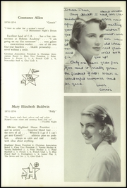 Page 15, 1954 Edition, Walnut Hill School - Summit Yearbook (Natick, MA) online yearbook collection