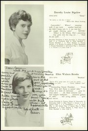 Page 16, 1954 Edition, Walnut Hill School - Summit Yearbook (Natick, MA) online yearbook collection