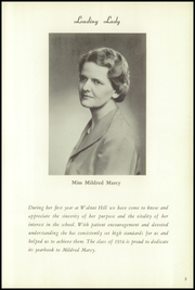 Page 9, 1954 Edition, Walnut Hill School - Summit Yearbook (Natick, MA) online yearbook collection