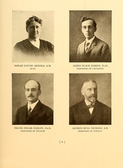 Page 13, 1909 Edition, Simmons College - Microcosm Yearbook (Boston, MA) online yearbook collection