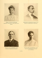 Page 17, 1909 Edition, Simmons College - Microcosm Yearbook (Boston, MA) online yearbook collection