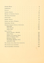 Page 10, 1911 Edition, Simmons College - Microcosm Yearbook (Boston, MA) online yearbook collection