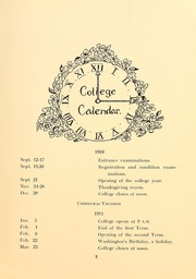 Page 11, 1911 Edition, Simmons College - Microcosm Yearbook (Boston, MA) online yearbook collection