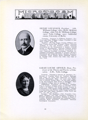 Page 11, 1917 Edition, Simmons College - Microcosm Yearbook (Boston, MA) online yearbook collection