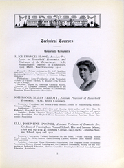 Page 12, 1917 Edition, Simmons College - Microcosm Yearbook (Boston, MA) online yearbook collection