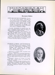 Page 16, 1917 Edition, Simmons College - Microcosm Yearbook (Boston, MA) online yearbook collection