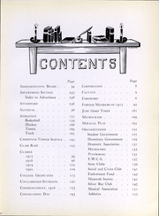 Page 8, 1917 Edition, Simmons College - Microcosm Yearbook (Boston, MA) online yearbook collection