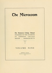 Page 11, 1918 Edition, Simmons College - Microcosm Yearbook (Boston, MA) online yearbook collection
