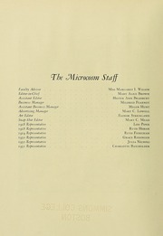 Page 6, 1928 Edition, Simmons College - Microcosm Yearbook (Boston, MA) online yearbook collection