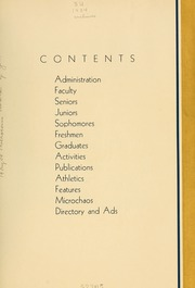 Page 11, 1934 Edition, Simmons College - Microcosm Yearbook (Boston, MA) online yearbook collection