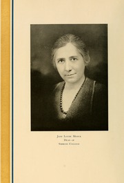 Page 14, 1934 Edition, Simmons College - Microcosm Yearbook (Boston, MA) online yearbook collection