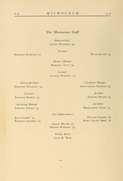 Page 16, 1934 Edition, Simmons College - Microcosm Yearbook (Boston, MA) online yearbook collection