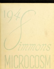 Page 1, 1948 Edition, Simmons College - Microcosm Yearbook (Boston, MA) online yearbook collection