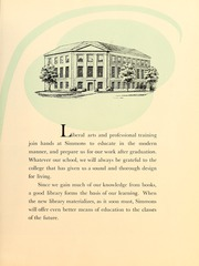 Page 13, 1948 Edition, Simmons College - Microcosm Yearbook (Boston, MA) online yearbook collection
