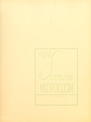 Page 3, 1948 Edition, Simmons College - Microcosm Yearbook (Boston, MA) online yearbook collection
