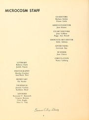 Page 8, 1960 Edition, Simmons College - Microcosm Yearbook (Boston, MA) online yearbook collection