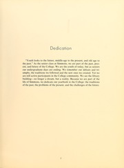 Page 11, 1962 Edition, Simmons College - Microcosm Yearbook (Boston, MA) online yearbook collection