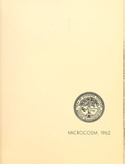 Page 5, 1962 Edition, Simmons College - Microcosm Yearbook (Boston, MA) online yearbook collection