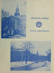 Page 5, 1968 Edition, Simmons College - Microcosm Yearbook (Boston, MA) online yearbook collection