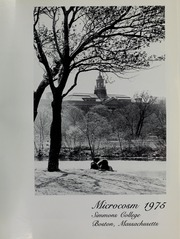 Page 5, 1975 Edition, Simmons College - Microcosm Yearbook (Boston, MA) online yearbook collection