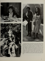 Page 15, 1981 Edition, Simmons College - Microcosm Yearbook (Boston, MA) online yearbook collection