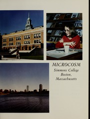 Page 5, 1981 Edition, Simmons College - Microcosm Yearbook (Boston, MA) online yearbook collection