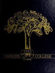 Page 1, 1983 Edition, Simmons College - Microcosm Yearbook (Boston, MA) online yearbook collection