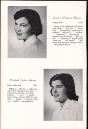 Page 12, 1957 Edition, Concord Academy - Yearbook (Concord, MA) online yearbook collection
