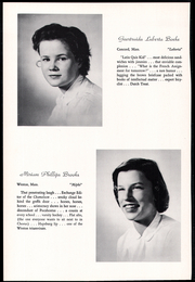 Page 14, 1957 Edition, Concord Academy - Yearbook (Concord, MA) online yearbook collection