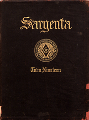 1919 Edition, Sargent School of Boston University - Sargenta Yearbook (Cambridge, MA)