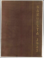 1933 Edition, Sargent School of Boston University - Sargenta Yearbook (Cambridge, MA)