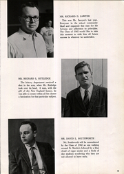 Page 17, 1962 Edition, Lenox School - Martin Yearbook (Lenox, MA) online yearbook collection