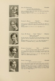 Page 16, 1928 Edition, Westfield State University - Tekoa Yearbook (Westfield, MA) online yearbook collection