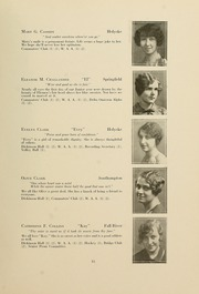 Page 17, 1928 Edition, Westfield State University - Tekoa Yearbook (Westfield, MA) online yearbook collection