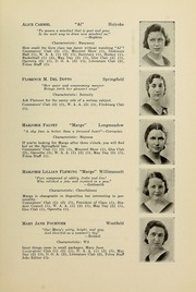 Page 17, 1933 Edition, Westfield State University - Tekoa Yearbook (Westfield, MA) online yearbook collection