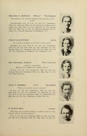 Page 15, 1934 Edition, Westfield State University - Tekoa Yearbook (Westfield, MA) online yearbook collection