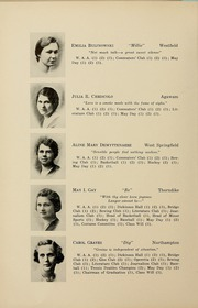 Page 16, 1934 Edition, Westfield State University - Tekoa Yearbook (Westfield, MA) online yearbook collection
